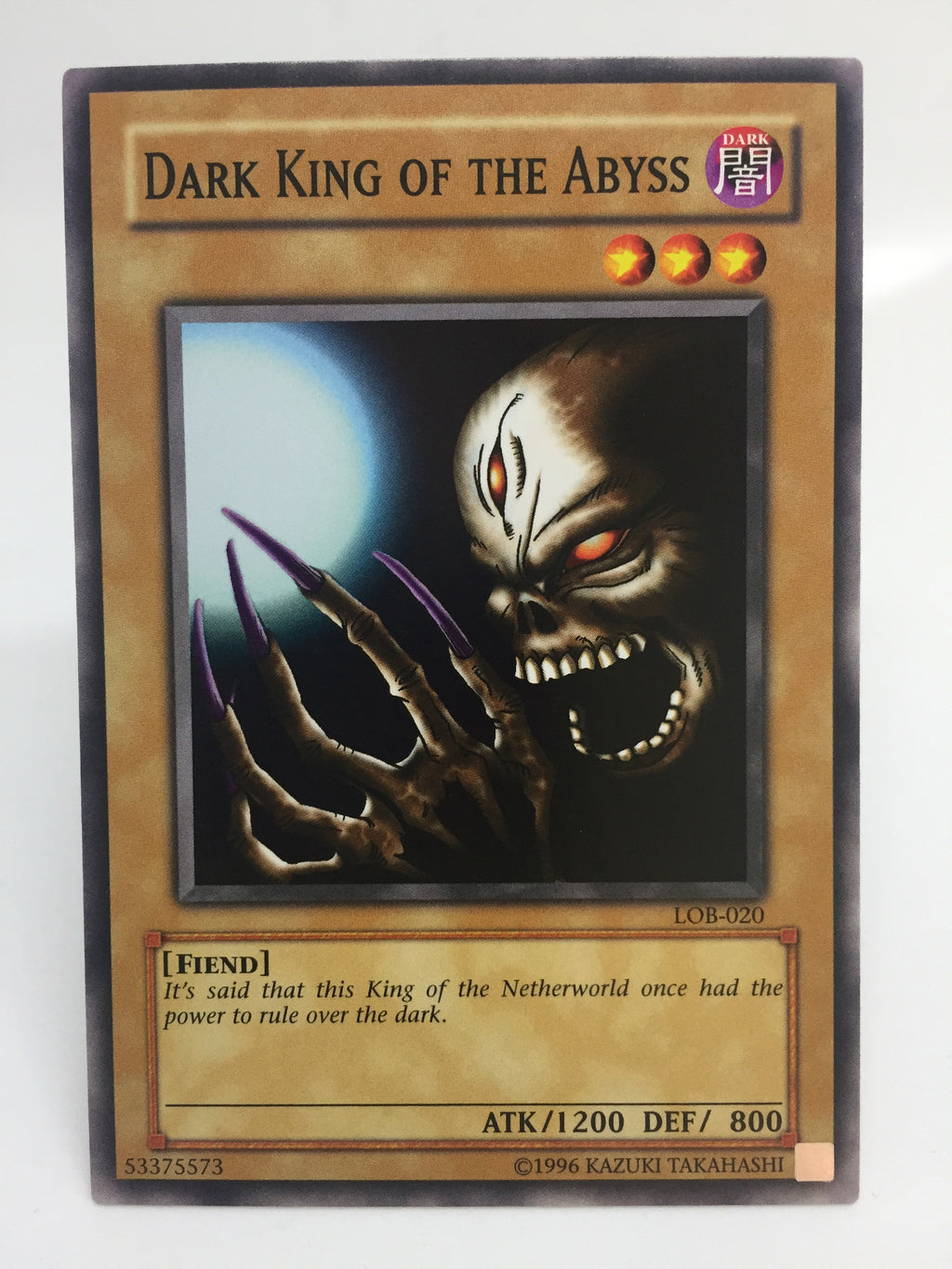 Dark King of the Abyss / Common - LOB-020