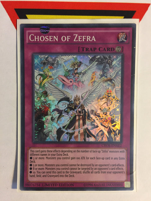 CHOSEN OF ZEFRA / SUPER - CROS-ENAE2 - LIM