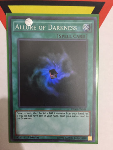 ALLURE OF DARKNESS - SUPER - DESO-EN044 - 1ST