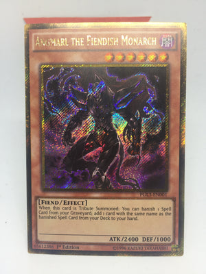 Angmarl the Fiendish Monarch / Gold Secret - PGL3-EN001 - 1st