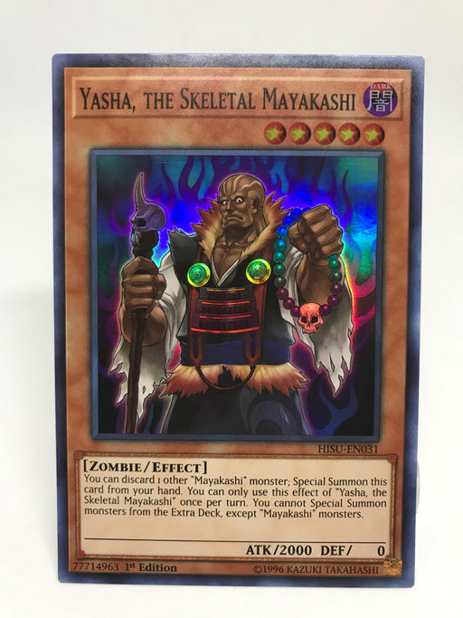 Yasha, the Skeletal Mayakashi / Super - HISU-EN031 - 1st
