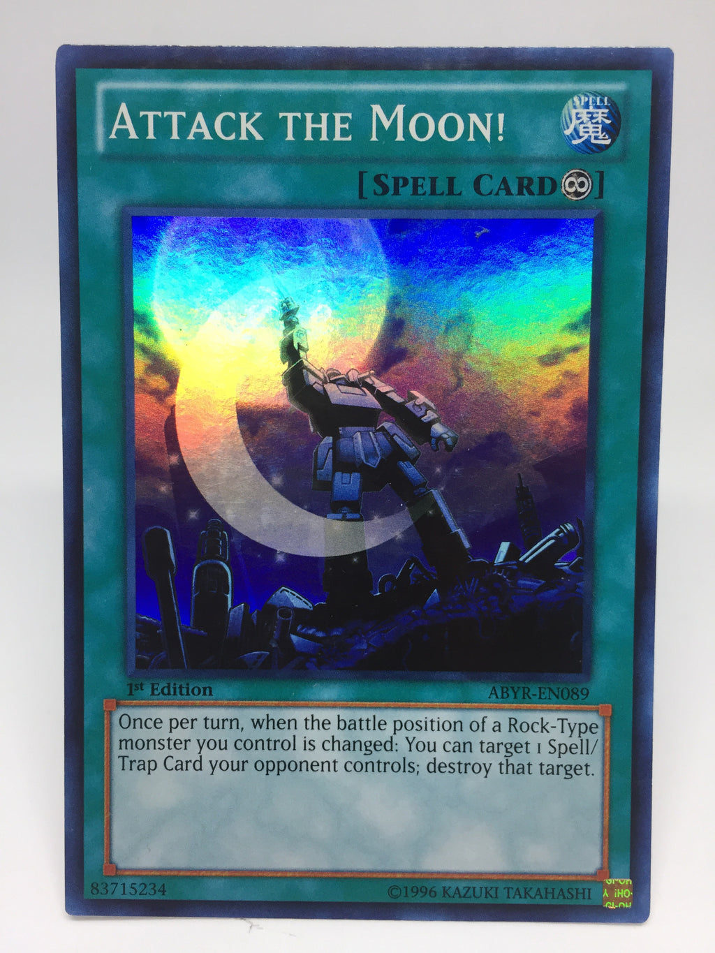 Attack the Moon! / Super - ABYR-EN089 - 1st