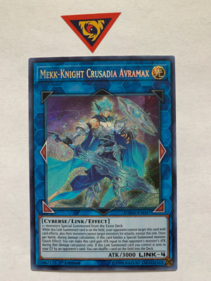 Mekk-Knight Crusadia Avramax / Secret - DANE-EN047 - 1st