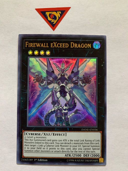 Firewall eXceed Dragon / Ultra - DANE-EN036 - 1st