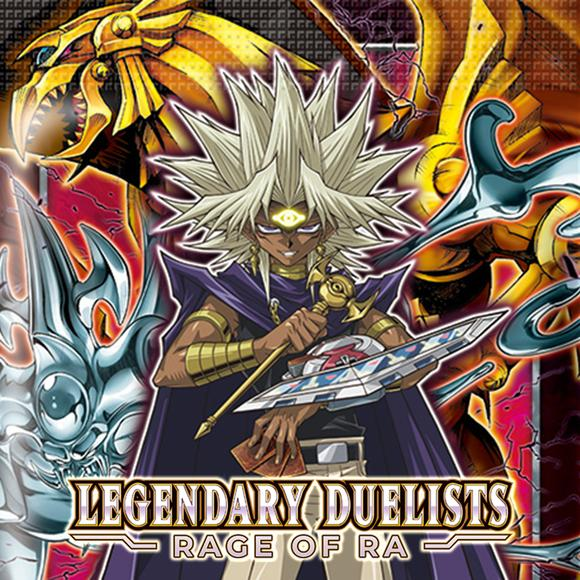YUGIOH LEGENDARY DUELISTS RAGE OF RA BOOSTER