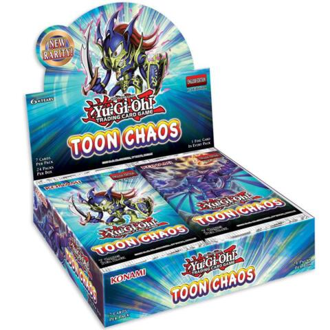 Pre-order - YU-GI-OH TOON CHAOS BOOSTER BOX (June 18th 2020)