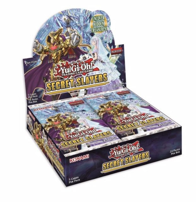 Pre-order - YU-GI-OH SECRET SLAYERS BOOSTER BOX (Apr 3rd 2020)