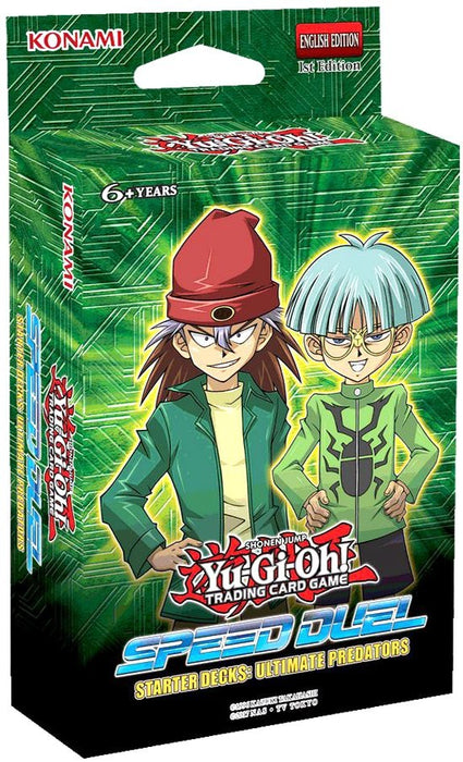 YUGIOH ULTIMATE PREDATORS STARTER (FREE SHIPPING CA)