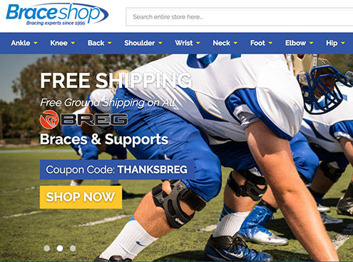 Sportsbraces.com Acquires Braceshop.com Domain Name