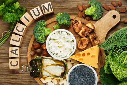 calcium wording blocks food sources