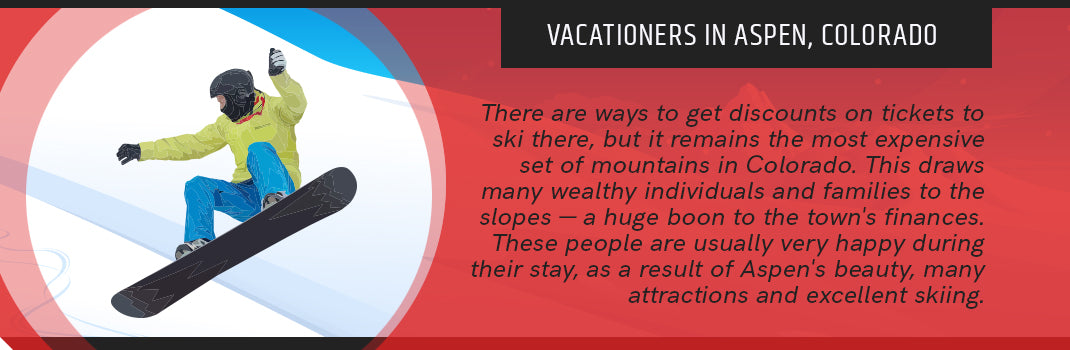 vacationers aspen colorado graphic