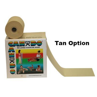 Fabrication Cando Latex Free Exercise Band 50-Yard Dispenser