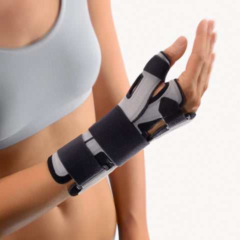 BORT Soft SellaTex® Thumb & Wrist Support Fracture Splint, with removable thumb