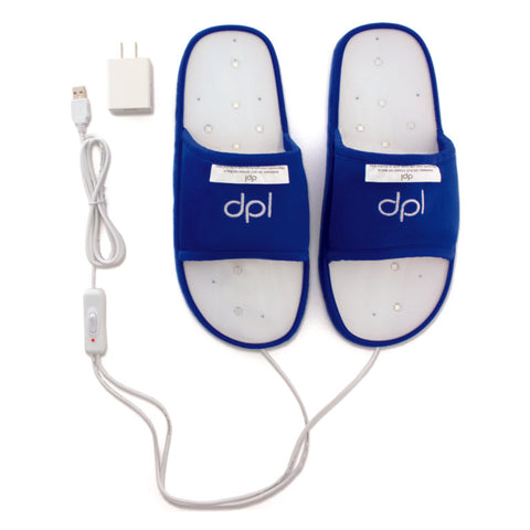 LED Technologies DPL Foot Pain Relief Slippers
