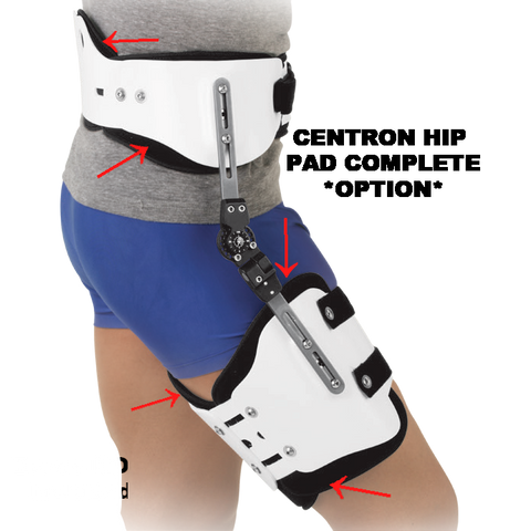 Breg Centron Hip Abduction - Pad Set