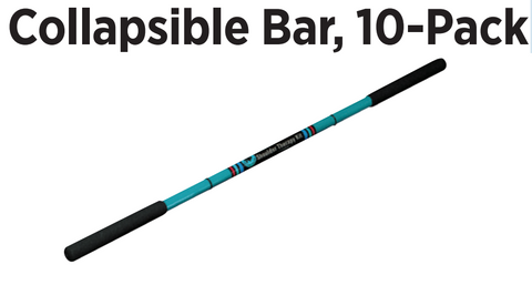 Breg Collapsible Bar, 10-Pack