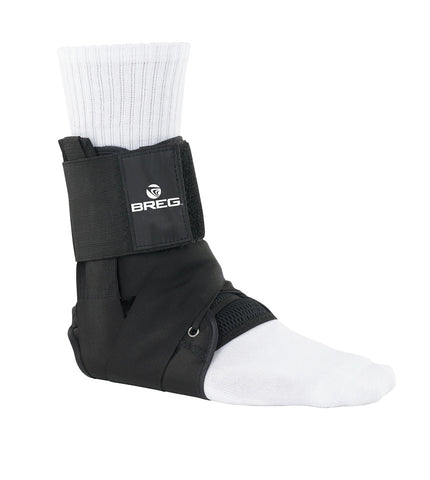 Breg Lace-Up Ankle Brace w/Tibial Strap