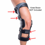DonJoy Legend and SE-4 Knee Brace Strap Kit