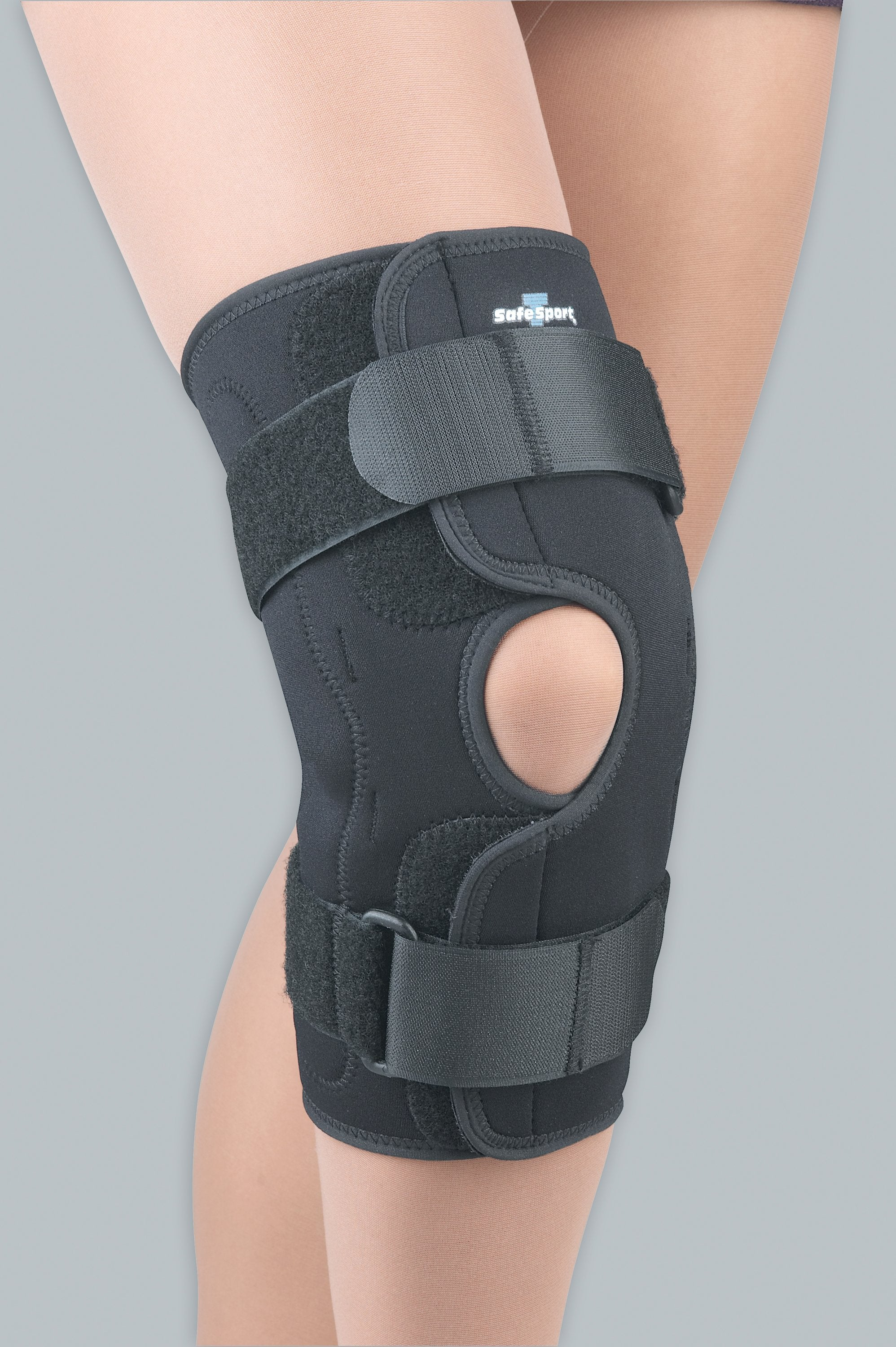 7750381257 FLA Safe-T-Sport Wrap-Around Hinged Knee Brace