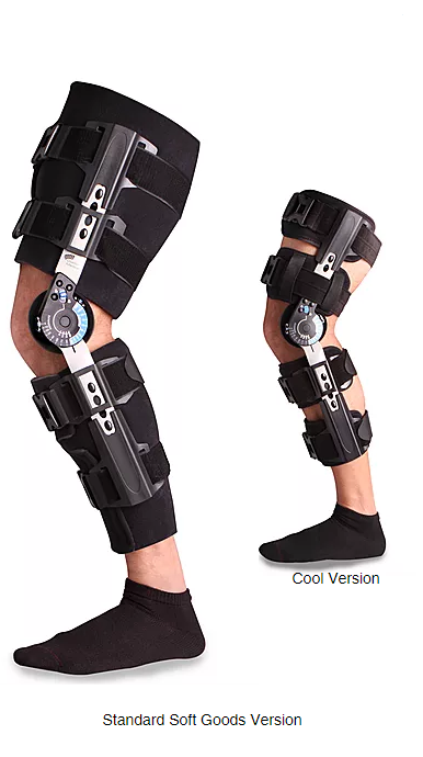 b431aac151 Ovation Medical Compact Pro,Post Op Knee w/Quick Release Buckle, with Drop