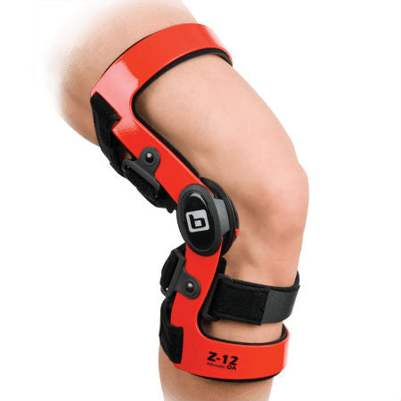 Breg Custom Z-12 Adjustable OA Arthritis Knee Brace