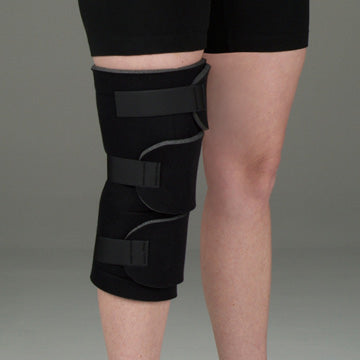 DeRoyal Foam Hot/Cold Therapy Wrap Knee 2 Hot/Cold Packs