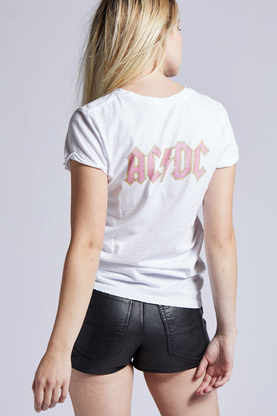 AC/DC Bolt Roll Up Tee
