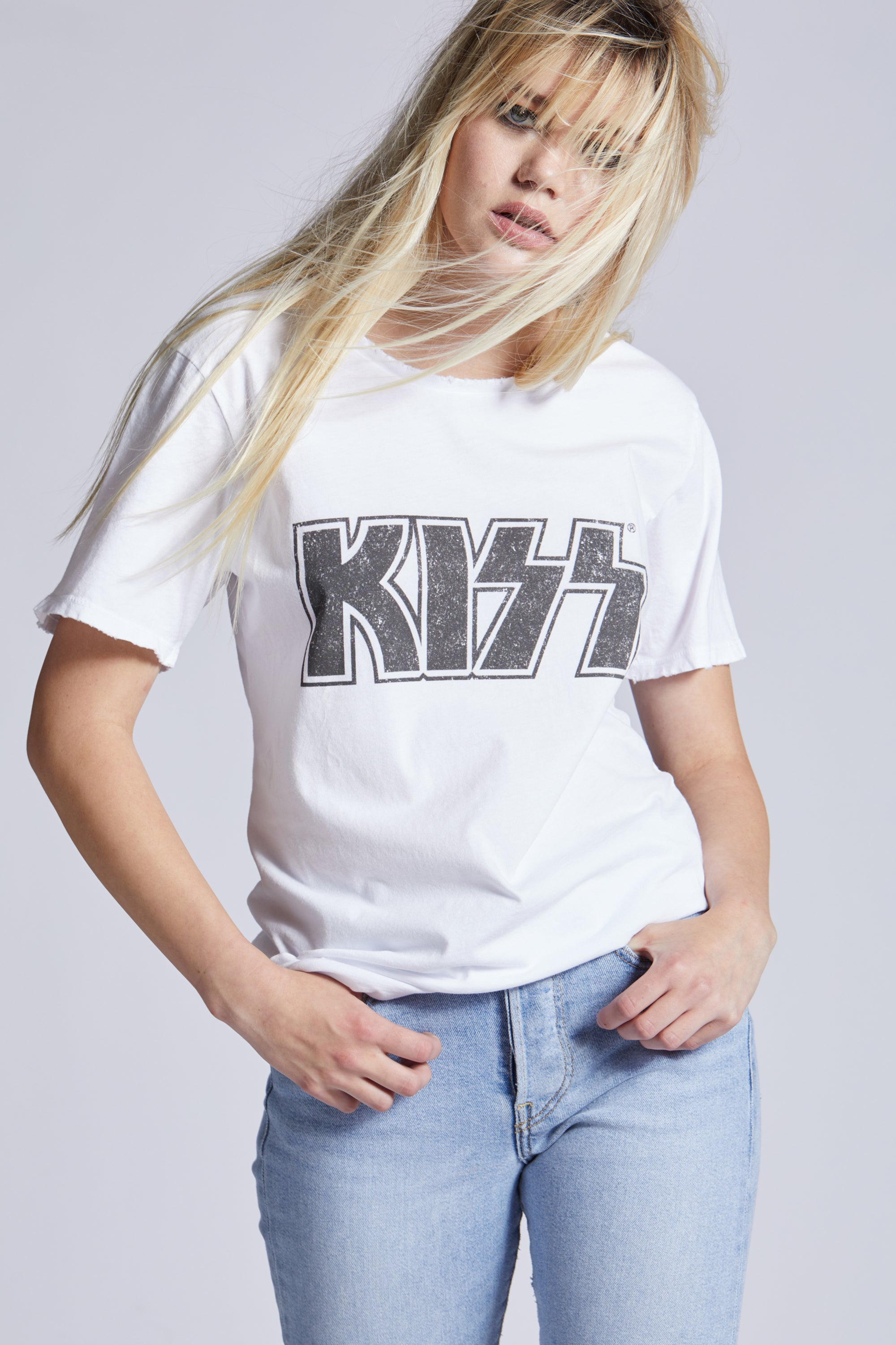 Crazy With KISS Tee