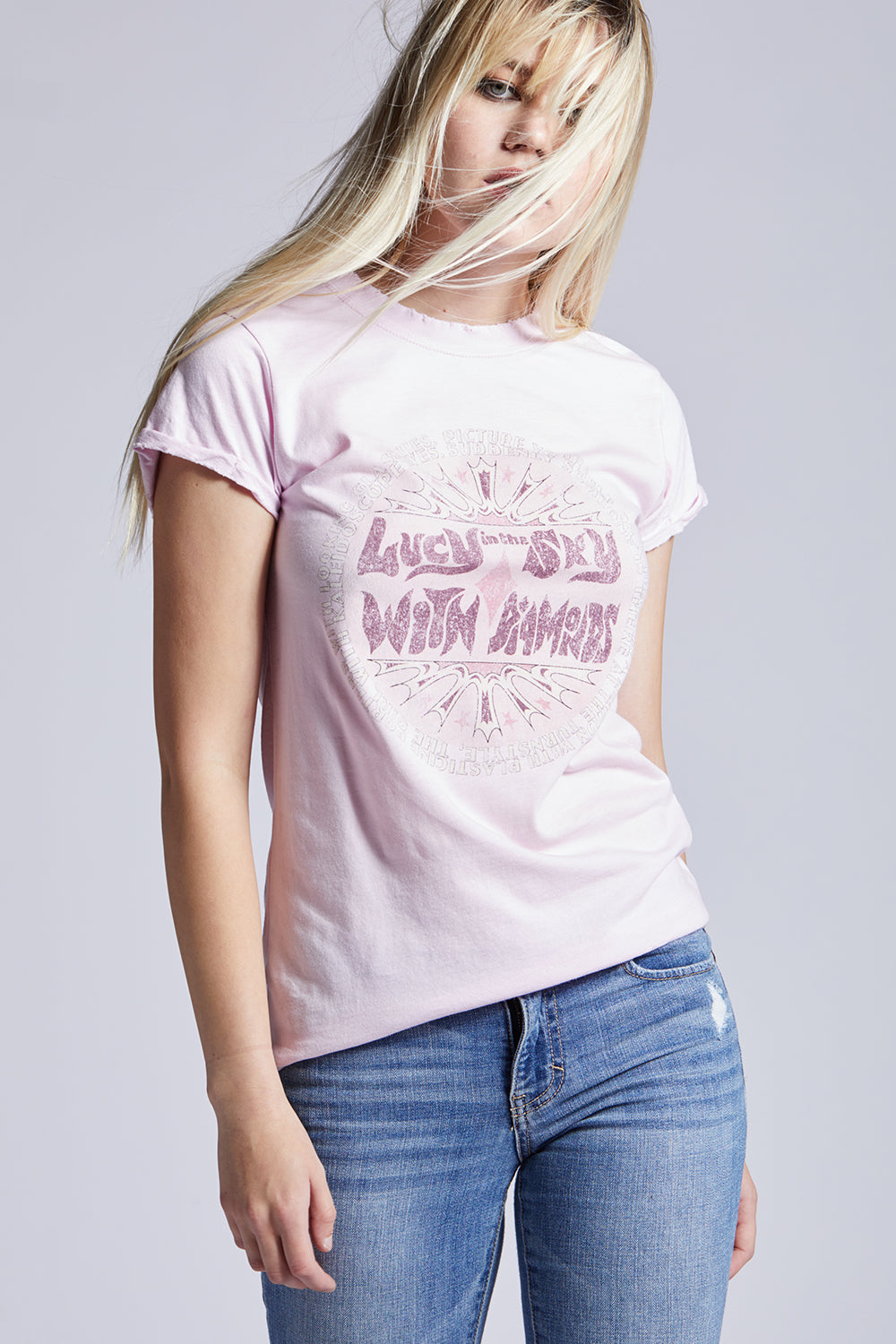 "Classic ""Lucy In The Sky With Diamonds"" Lyric Tee"