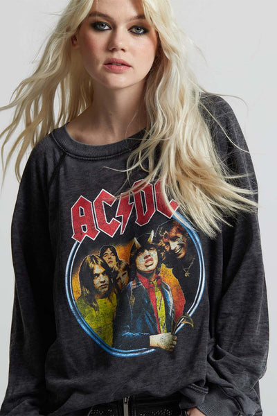 AC/DC 1979 Vintage Tour Fleece Sweatshirt