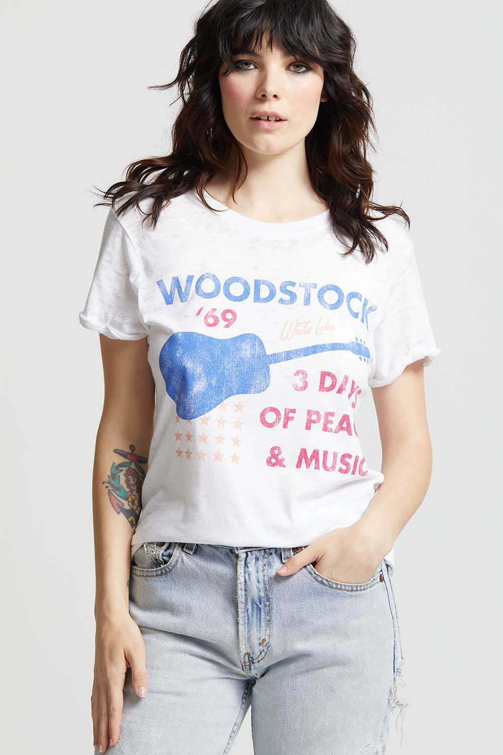 Woodstock 1969 Guitar Tee