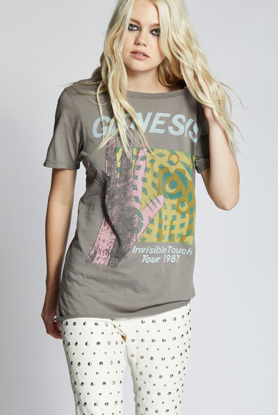 Genesis Invisible Touch 1987 Tour Tee