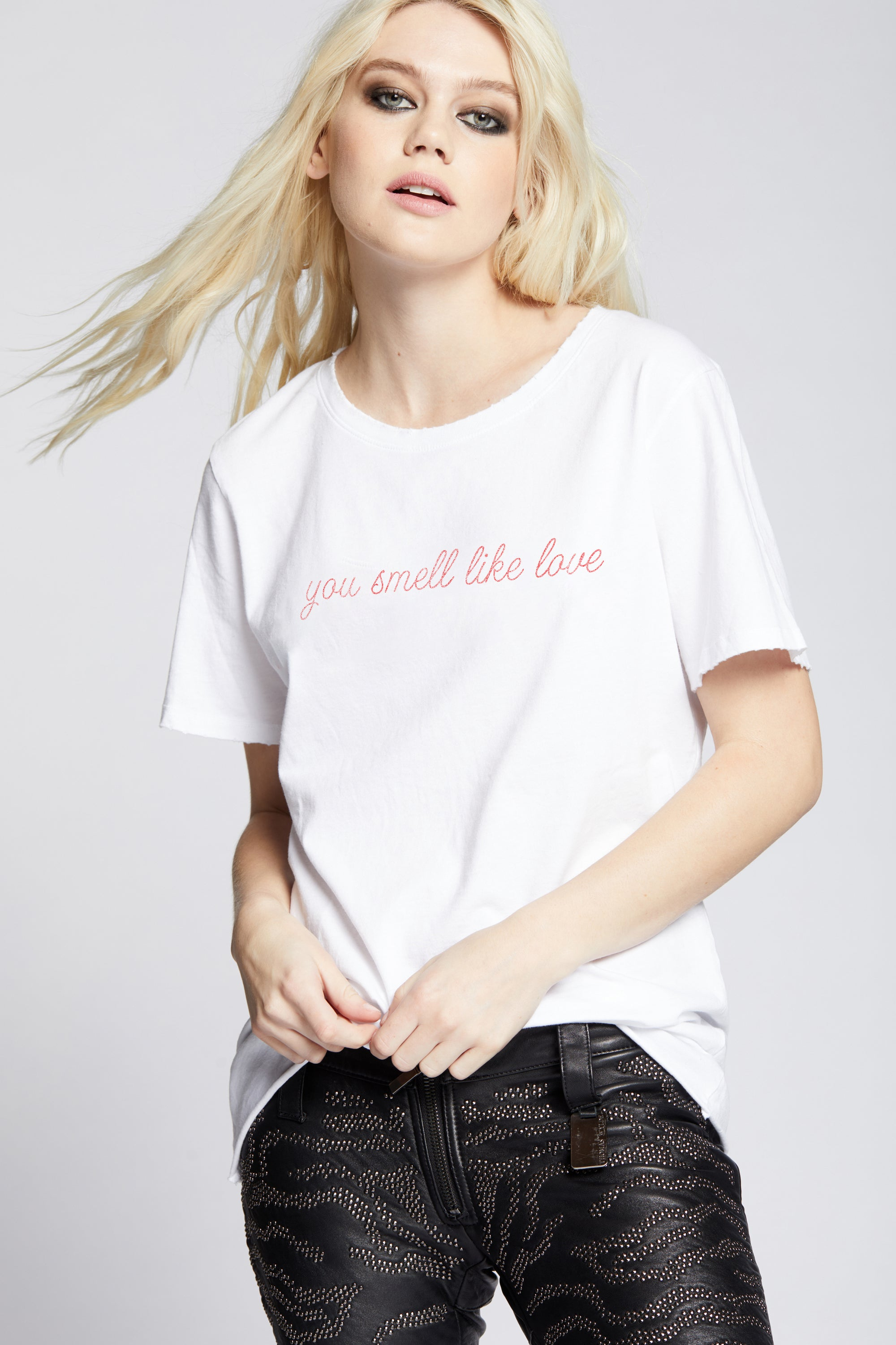 You Smell Like Love Oversized Tee