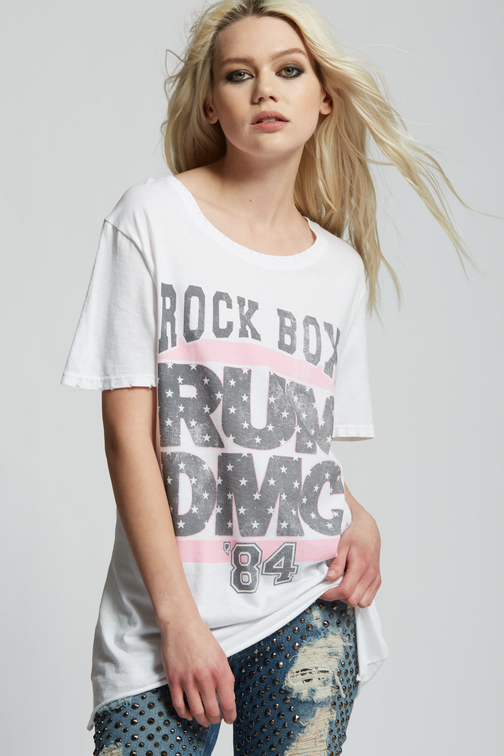 Run-DMC Rock Box '84 Tee