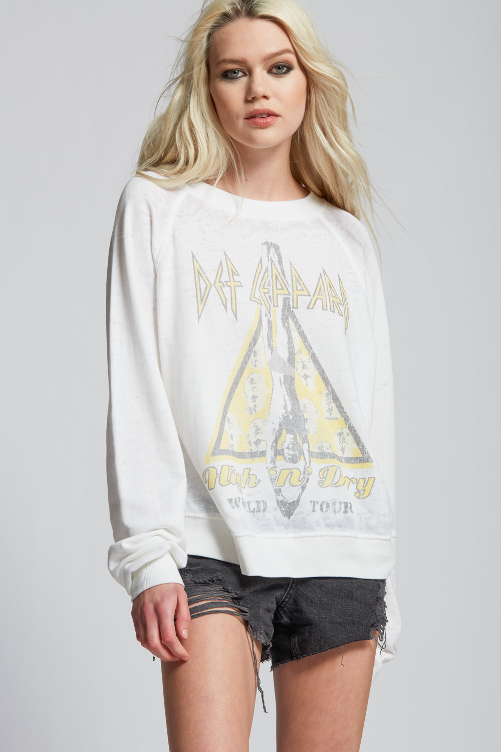 Def Leppard High 'n' Dry Tour Sweatshirt