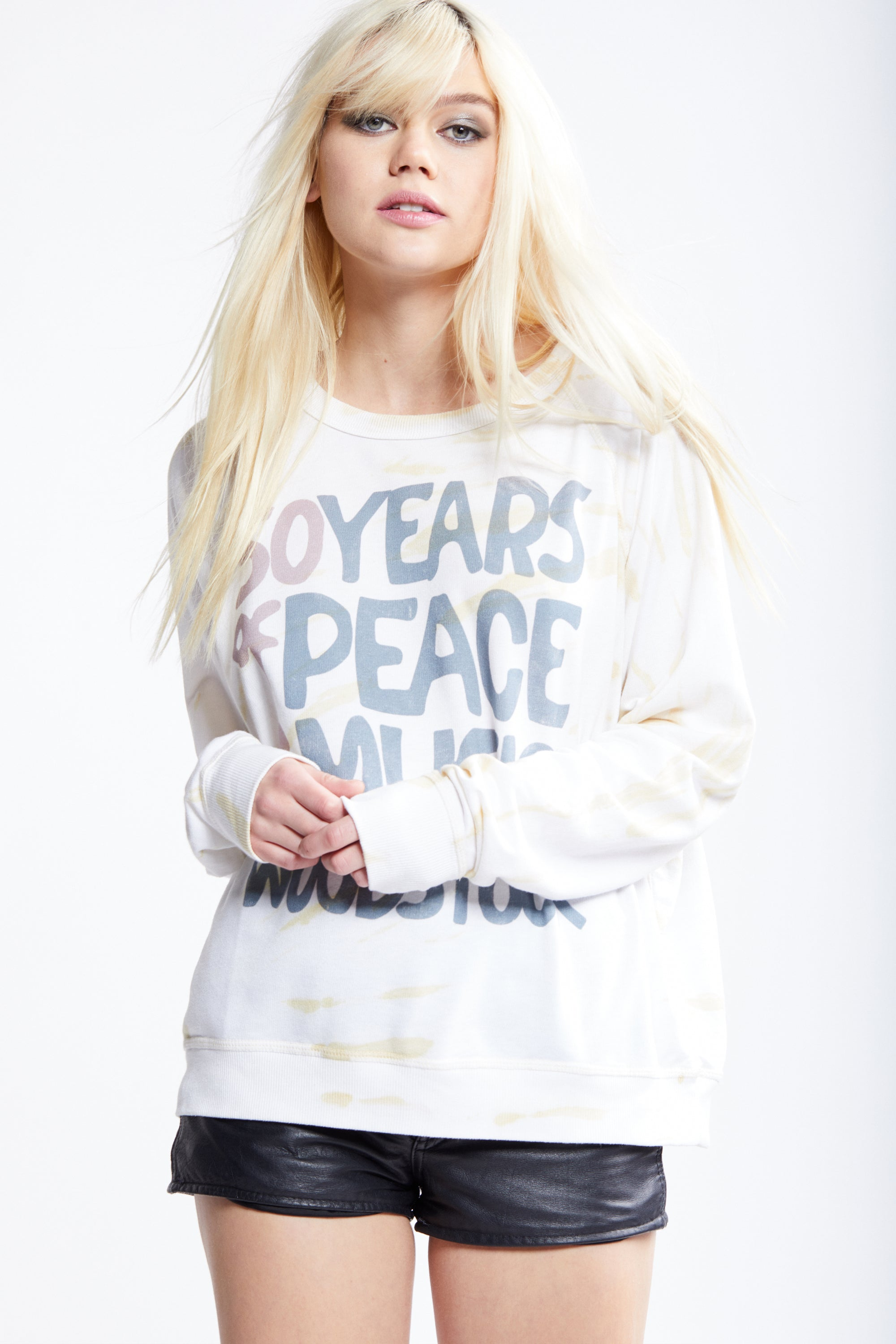 Woodstock 50 Years Natural Sweater
