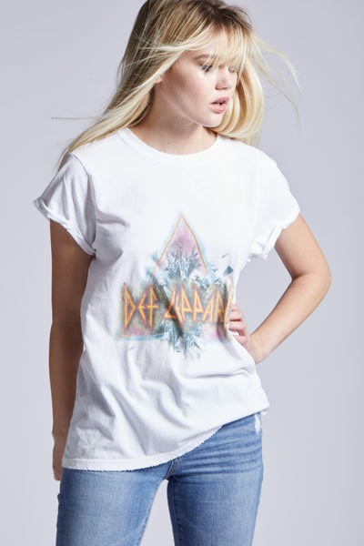 Def Leppard Roll Up Tee