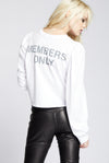 Members Only Puffed Long Sleeve Tee