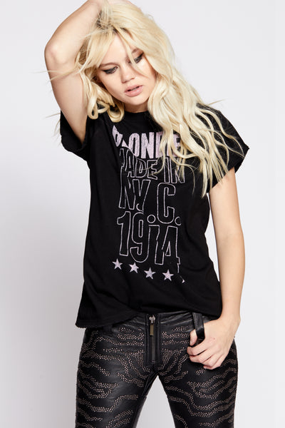 Blondie Made In N.Y.C. 1974 Tee
