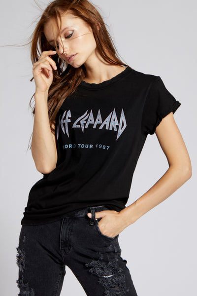 Def Leppard 1987 World Tour Tee