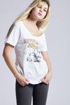 Woodstock Hippies Vintage Tee