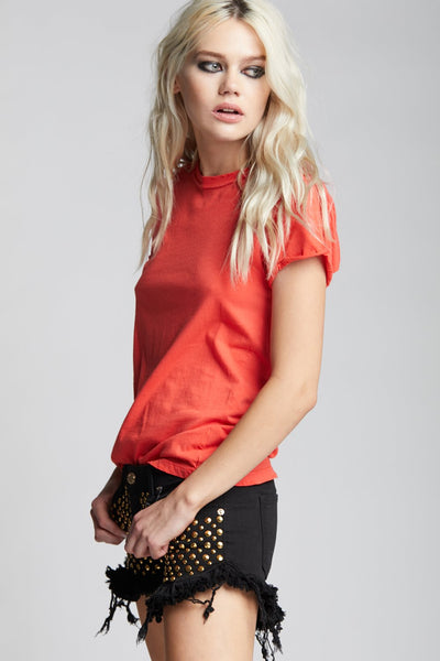 Paprika Fitted Tee