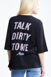 Poison Talk Oversized Tee