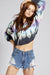 Tie Dye Crop Fleece
