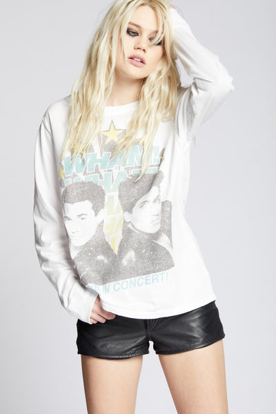 Wham! Live In Concert Long Sleeve Tee