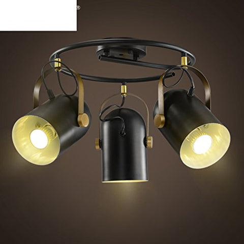 Simple retro modern american style ceiling lamp industrial creative living room bar clothing select options