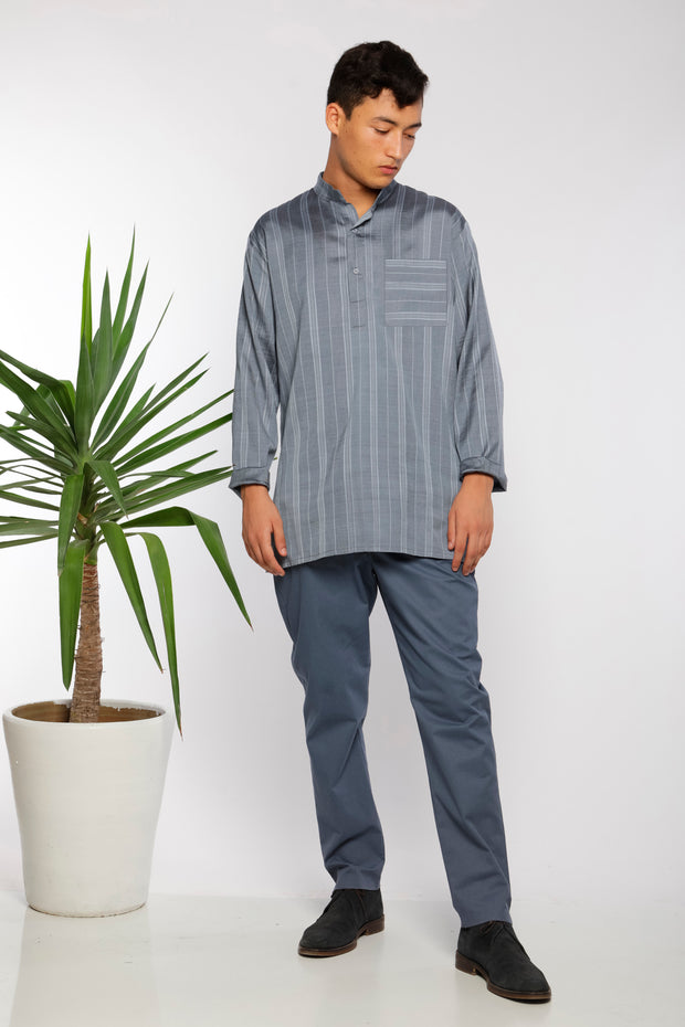 Kurta silk shirt