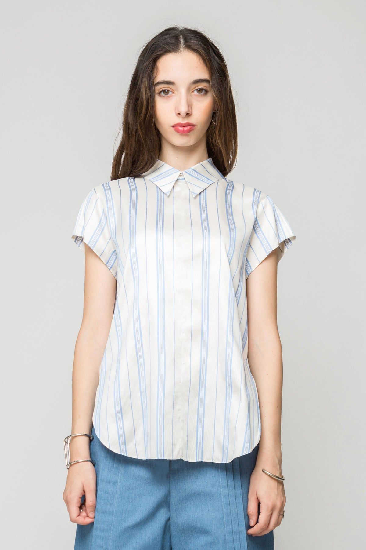 Silk Road Shirt with Tucks