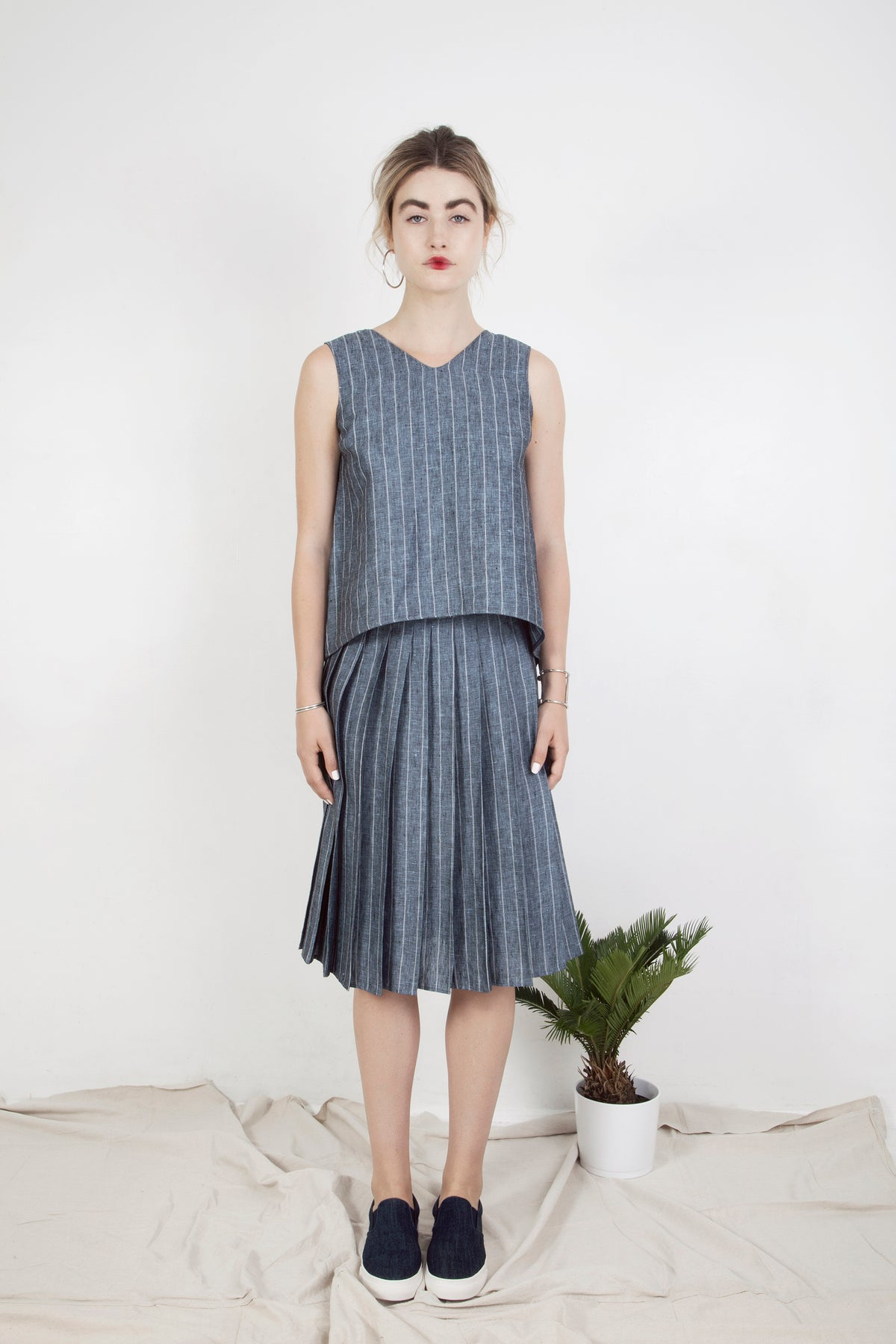 Sophia Pleated Skirt