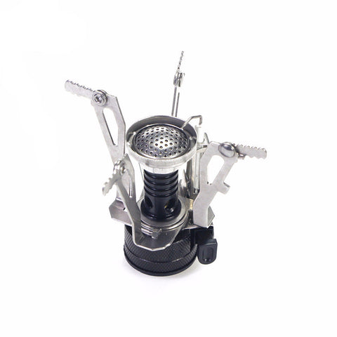 Ultralight Camp Stove with Piezo Ignition